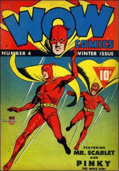 Wow Comics (1940) 4-A by Fawcett