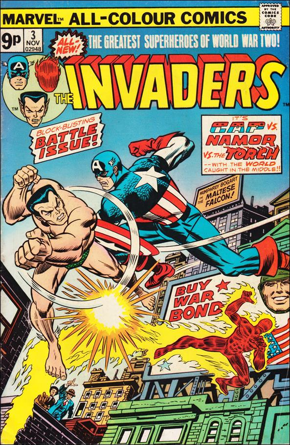 Invaders (1975) 3-B by Marvel