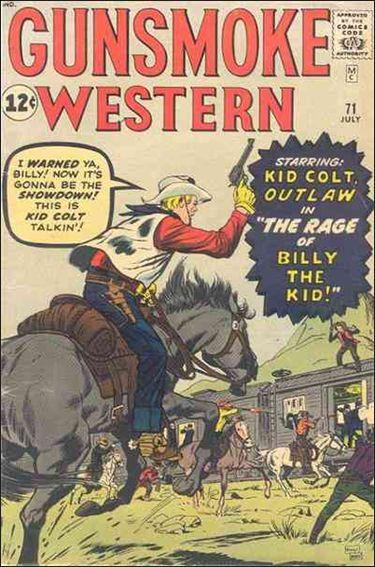 Gunsmoke Western 71-A by Marvel