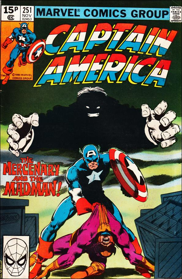 Captain America (1968) 251-B by Marvel