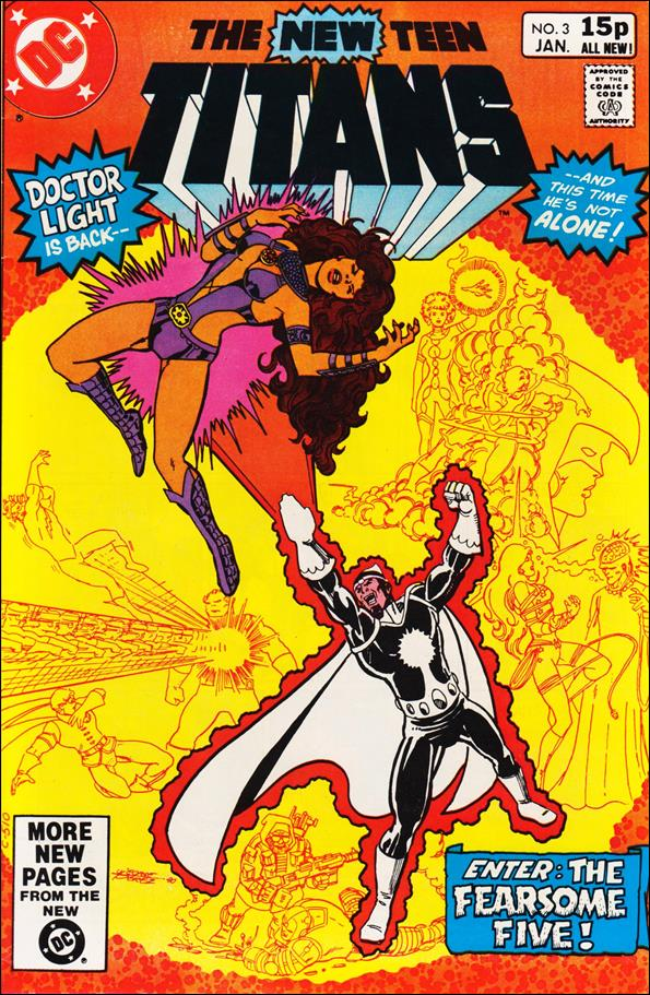 New Teen Titans (1980) 3-B by DC