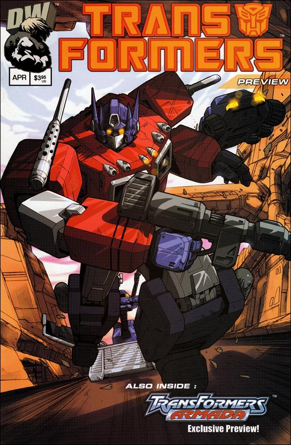 Transformers: Generation 1 (2002) Preview-A by Dreamwave