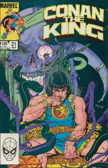 Conan the King 21-A by Marvel