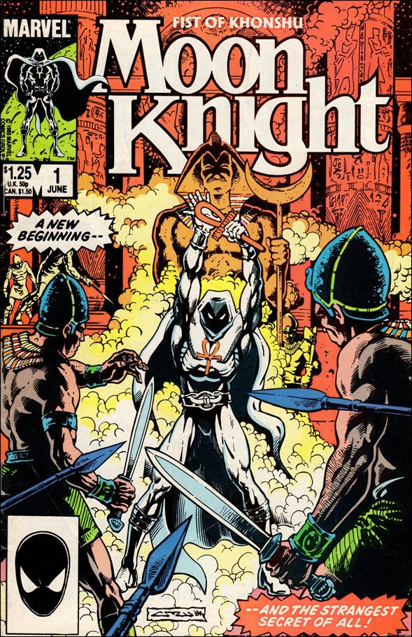 Moon Knight (1985) 1-A by Marvel