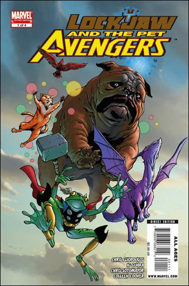 Lockjaw and the Pet Avengers 1-A by Marvel