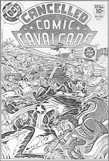 Cancelled Comic Cavalcade 1-A by DC