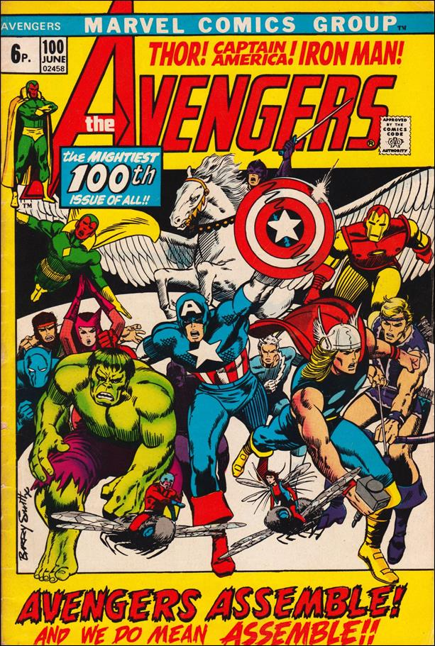 Avengers (1963) 100-B by Marvel