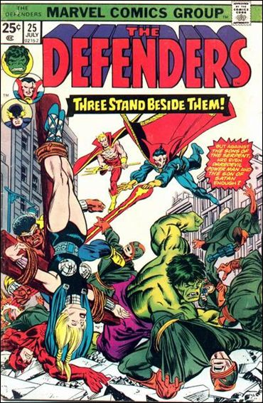 Defenders (1972) 25-A by Marvel