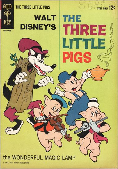Three Little Pigs 1-A by Gold Key