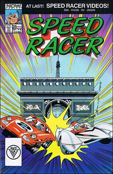 Speed Racer (1987) 35-A by Now Comics