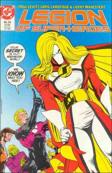 Legion of Super-Heroes (1984) 24-A by DC