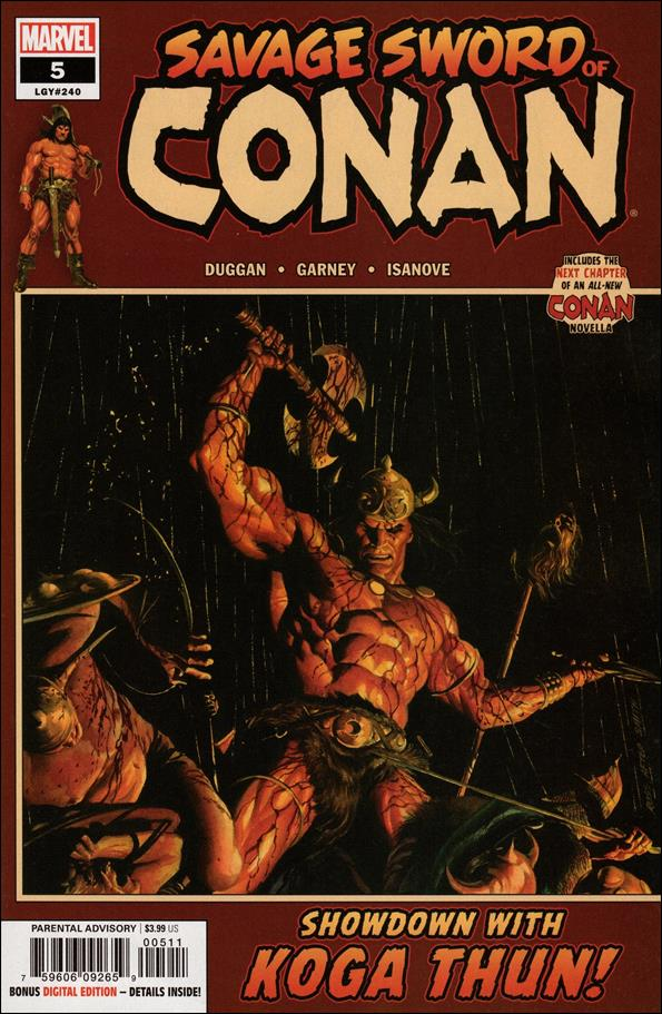 Savage Sword of Conan (2019) 5-A by Marvel