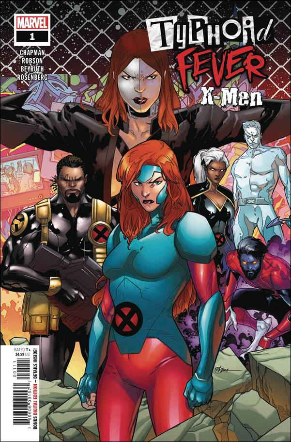 Typhoid Fever: X-Men 1-A by Marvel