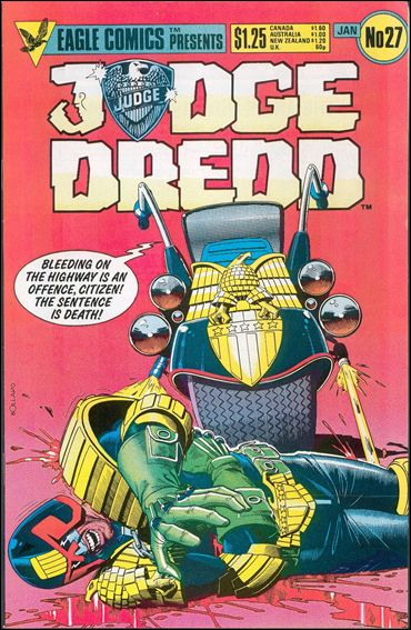 Judge Dredd (1983) 27-A by Eagle Comics