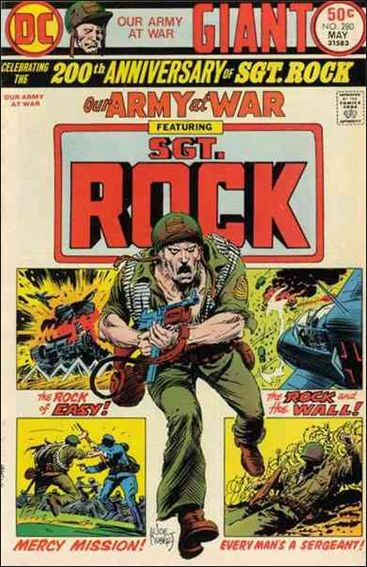 Our Army At War (1952) 280-A by DC