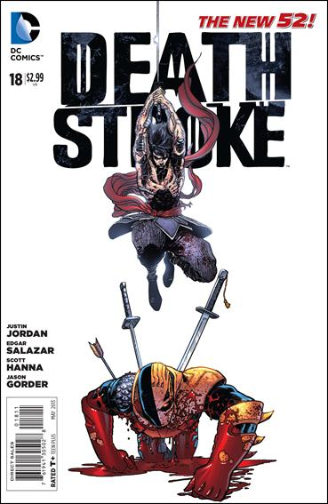 Deathstroke (2011) 18-A by DC