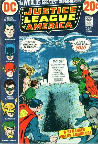 Justice League of America (1960) 103-A by DC