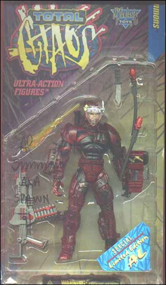 Total Chaos (Series 1) Al Simmons (Repaint) by McFarlane Toys