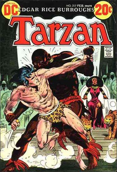 Tarzan (1972) 217-A by DC