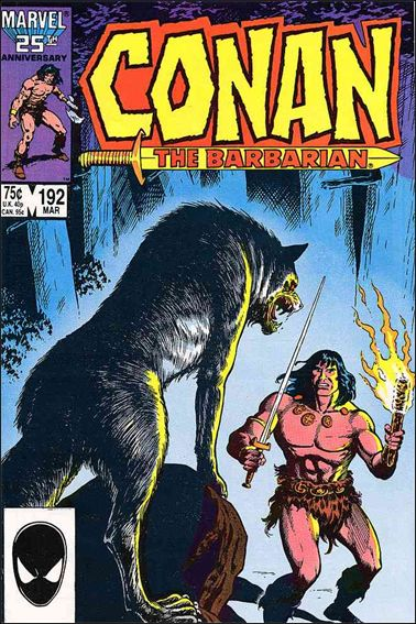 Conan the Barbarian (1970) 192-A by Marvel
