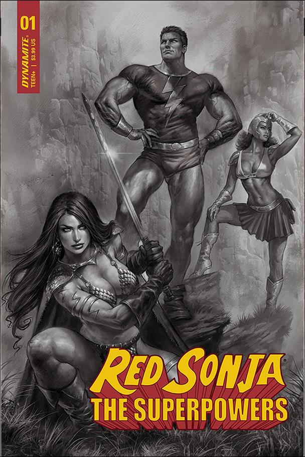 Red Sonja: The Superpowers 1-L by Dynamite Entertainment
