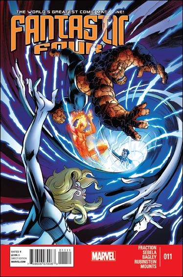 Fantastic Four (2013) 11-A by Marvel