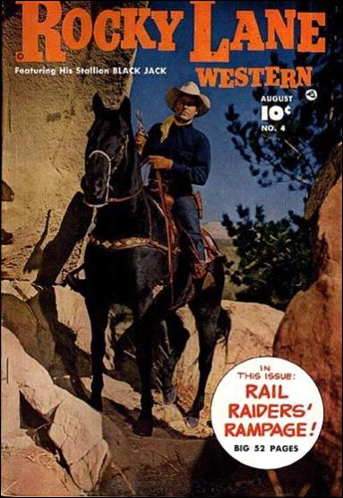 Rocky Lane Western (1949) 4-A by Fawcett