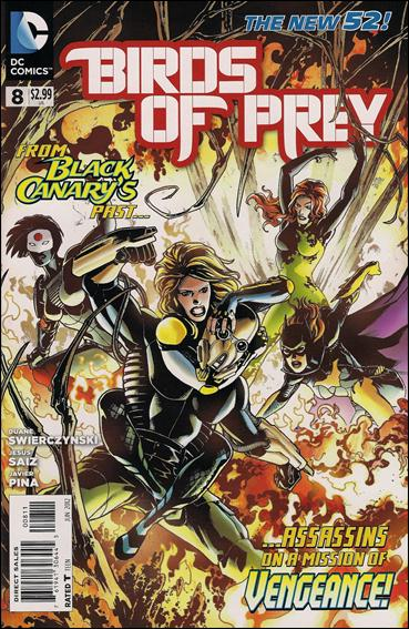 Birds of Prey (2011) 8-A by DC