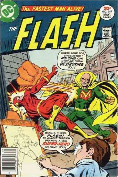 Flash (1959) 249-A by DC