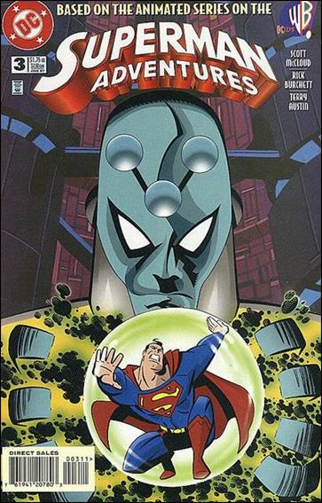 Superman Adventures 3-A by DC