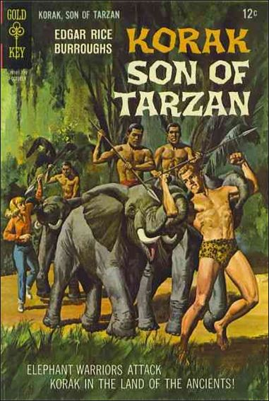 Korak, Son of Tarzan 19-A by DC