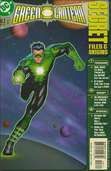 Green Lantern Secret Files 3-A by DC
