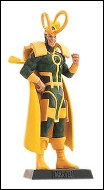 Classic Marvel Figurine Collection (UK) Loki by Eaglemoss Publications