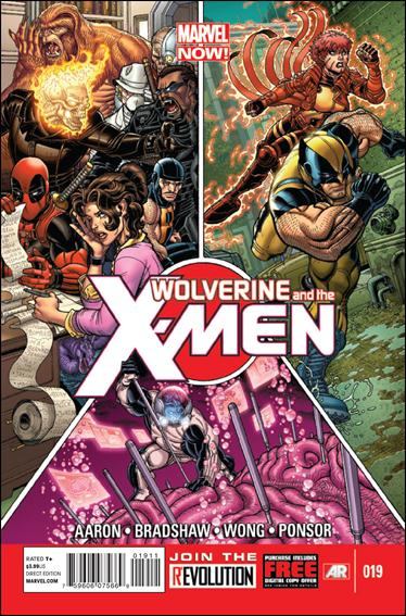 Wolverine & the X-Men 19-A by Marvel