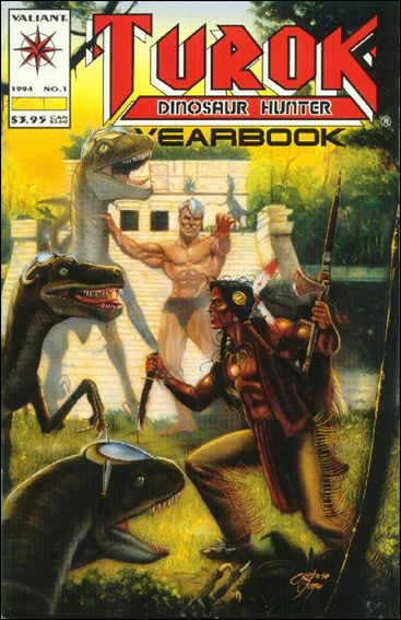 Turok: Dinosaur Hunter Yearbook 1-A by Valiant