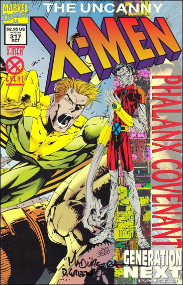 Uncanny X-Men (1981) 317-E by Marvel
