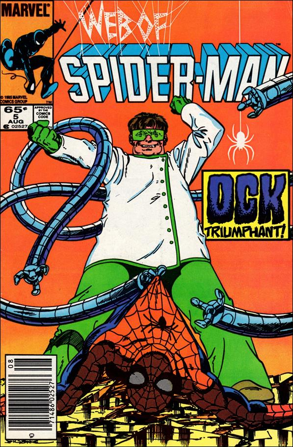Web of Spider-Man (1985) 5-A by Marvel