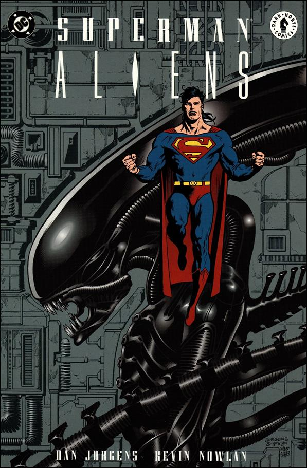 Superman vs Aliens 1-A by Dark Horse