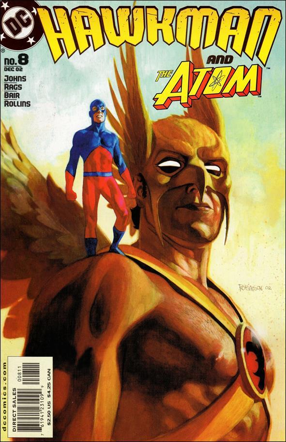 Hawkman (2002) 8-A by DC