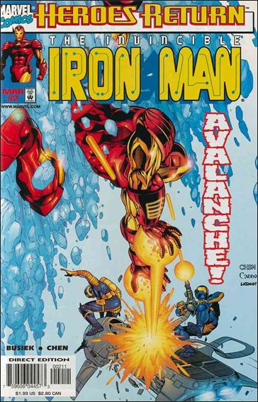 Iron Man (1998) 2-A by Marvel