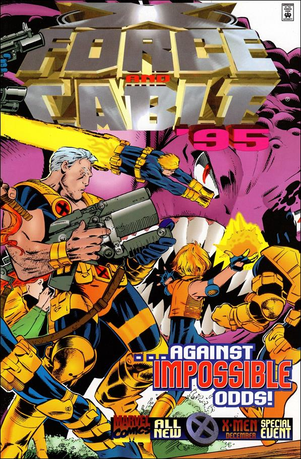 X-Force Annual '95-A by Marvel