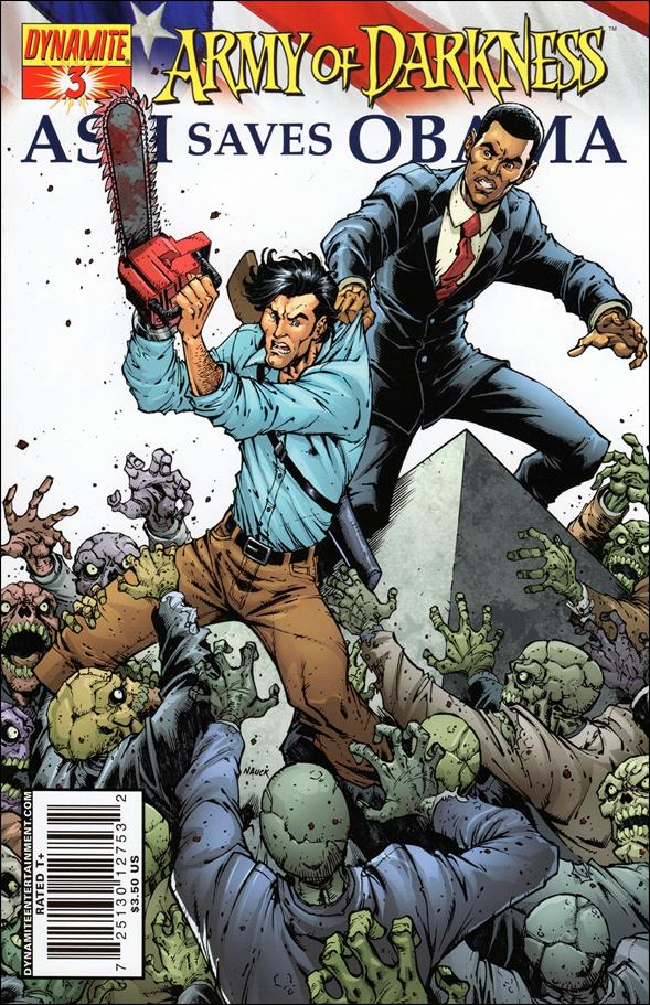 Army of Darkness: Ash Saves Obama 3-A by Dynamite Entertainment