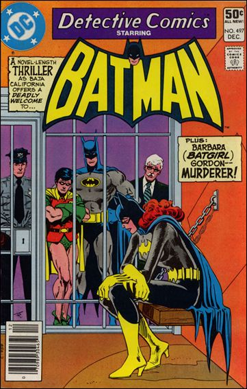 Detective Comics (1937) 497-A by DC