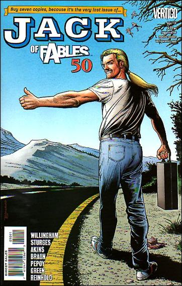 Jack of Fables 50-A by Vertigo