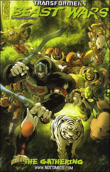Transformers Beast Wars: The Gathering 1-L by IDW