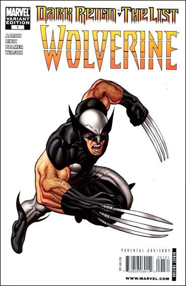 Dark Reign: The List - Wolverine 1-B by Marvel