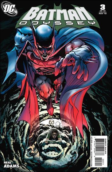 Batman: Odyssey (2010) 3-A by DC