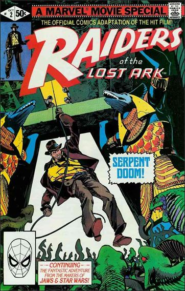Raiders of the Lost Ark 2-A by Marvel