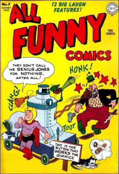 All Funny Comics 7-A by DC
