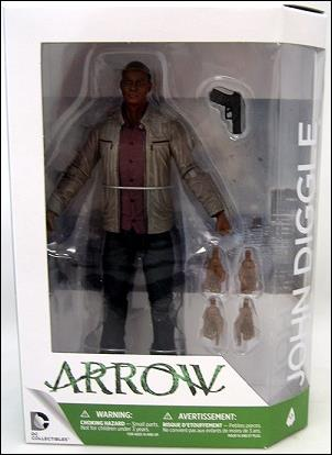 DC Comics: Arrow The TV Series John Diggle by DC Collectibles